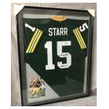 Bart Starr Signed Green Bay Packers Jersey