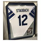 Roger Staubach Signed Dallas Cowboys Jersey
