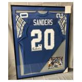 Barry Sanders Signed Detroit Lions Jersey