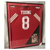 Steve Young Signed San Francisco 49ers Jersey
