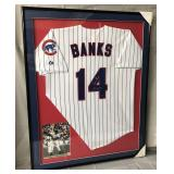 Ernie Banks Signed Chicago Cubs Jersey