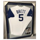 George Brett Signed Kansas City Royals Jersey