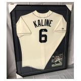 Al Kaline Signed Detroit Tigers Jersey