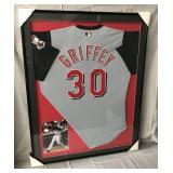 Ken Griffey Jr. Signed Cincinnati Reds Jersey