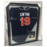 Tony Gwynn Signed San Diego Padres Jersey