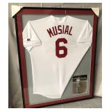 Stan Musial Signed St. Louis Cardinals Jersey