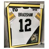 Terry Bradshaw Signed Pittsburgh Steelers Jersey