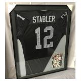Ken Stabler Signed Oakland Raiders Jersey