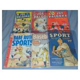 (6) Sports Comic Books, Various Conditions