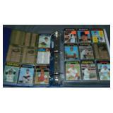 1971 Topps Baseball Card Partial Set