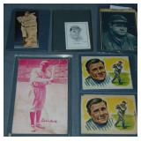 (6) Babe Ruth Related Card Items