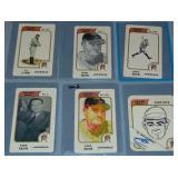 (6) Pesque Hueso Babe Ruth Baseball Cards