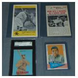 (4) 1960s Babe Ruth Baseball Cards