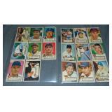 (17) 1952 Topps Baseball Cards