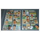 (17) 1956 Topps Baseball Cards