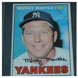 1967 Topps Mickey Mantle.