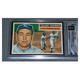 1956 Topps Duke Snider Graded.