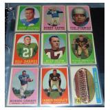 1958 Topps Football Card Set.