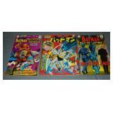 (3) Vintage Batman Comics