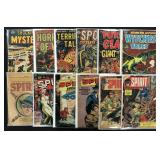 Assorted Golden Age Lot of 82 Comics, 2 Boxes