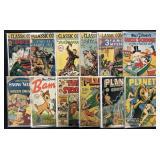 Lot of 30 Various Golden Age Comics