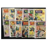 Lot of 49 Silver Age Action Comics