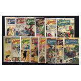 Lot of 37 Silver Age Adventure Comics