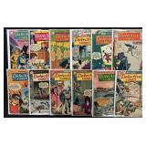 Lot of 58 Silver Age Detective Comics