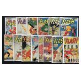 Lot of 71 Silver Age Flash Comics. 2 Boxes