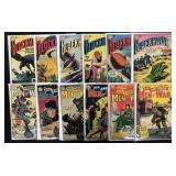 Lot of 29 Silver Age DC War Comics