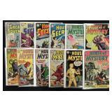 Lot of 36 Silver Age DC Sci-Fi & Super Hero Lot