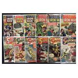 Lot of 141 Iron Man & Tales of Suspense Comics
