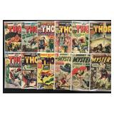 Lot of 124 Journey into Mystery and Thor Comics