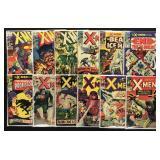 Lot of 40 Silver and Bronze Age X-Men Comics