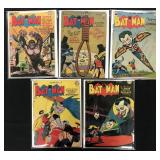 Batman #37, 60, 66, 67, & 75