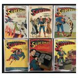 Superman #48, 49, 57, 60, 61, & 76