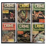 EC Crime SuspenStories Lot of 6 Comics