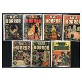 EC Vault of Horror lot of 7 Comics