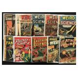 Golden Age Sci-Fi Lot of 10 Comics