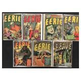 Eerie Golden Age Comic Lot of 7