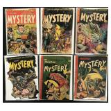 Mister Mistery Golden Age Comic Lot of 6