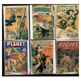 Fiction House Comic Lot of 6
