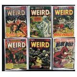 LB Cole Horror Comics Lot of 6