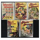 Wonder Woman Comic Lot of 5