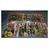(36) Incredible Hulk Comics, Marvel