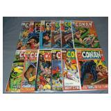 Conan the Barbarian and Tarzan Comic Book Lot