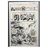 Joe Kubert. G.I. Combat #184 Cover.