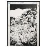 Joe Kubert. Cover Art. Challengers.
