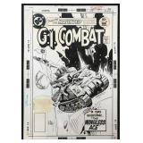 Joe Kubert. G.I Combat #199 Cover.