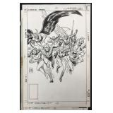 Joe Kubert. All Star Squadron. Cover #13.